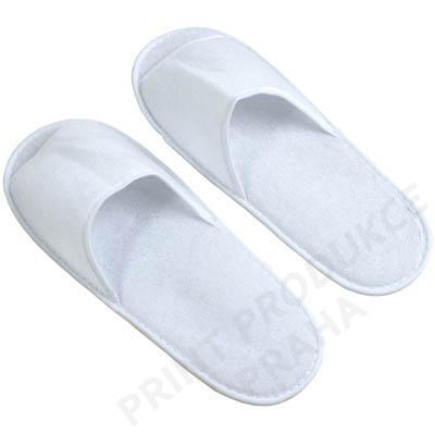 Pantofle, bílé vel. M