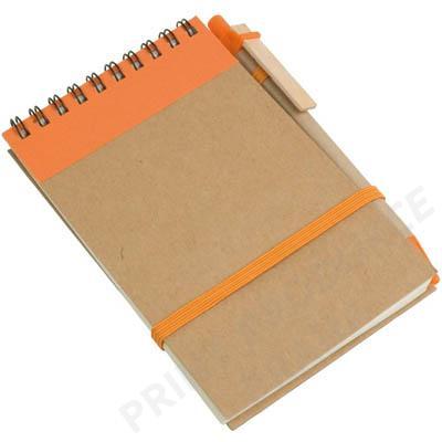 Blok s propiskou, oranžový