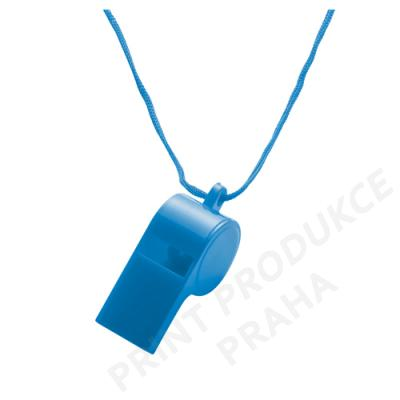 plastová píšťalka na krk PISKLE