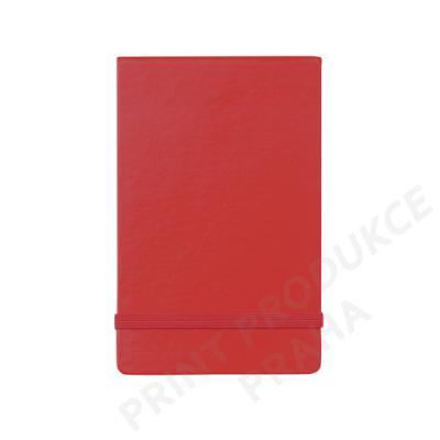 zápisník s tvrzenými deskami a gumičkou, 80 stran VERTIKAL