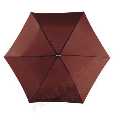 skládací deštník s mechanickým otevíráním SUPERSLIM