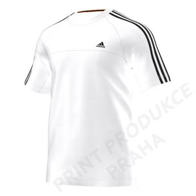 triko zn. adidas, 70% bavlna, 30% polyester ESS 3S CREW TEE