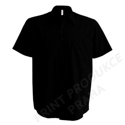pánská košile zn. KARIBAN, 65 % polyester, 35% bavlna popelín, 110 gr. LESTER