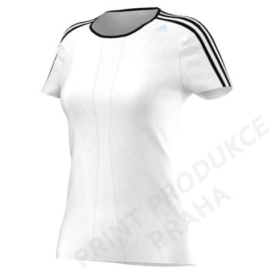 dámské triko zn. ADIDAS, 100% polyester, 123 gr. RSPSTEE